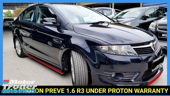 2015 PROTON PREVE 1.6 PREMIUM FACELIFT R3 UNDER WARRANTY