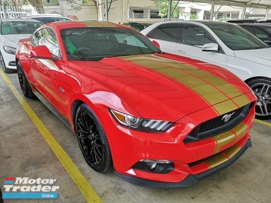 2016 FORD MUSTANG COUPE 5.0