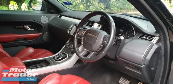 2013 LAND ROVER EVOQUE 2.0iS Dynamic 2 Door Coupe