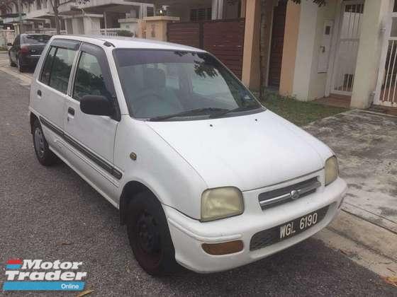 1998 PERODUA KANCIL 850 auto