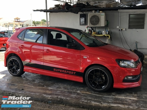 2016 VOLKSWAGEN POLO WELCOME CHECK MILEAGE 39997KM DONE ONLY