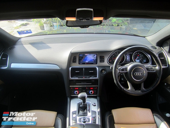 2011 AUDI Q7 3.0TFSI QUATTRO , S-LINE NEW FACELIFT , ONE OWNER , NICE NO