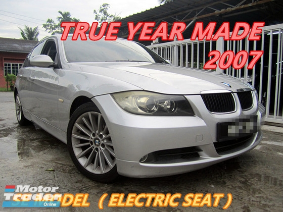 2007 BMW 3 SERIES 320I SPECIAL EDITION (A) CKD MODEL , ELECTRIC LEATHER SEAT