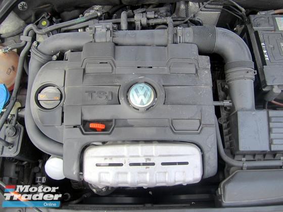 2012 VOLKSWAGEN JETTA JETTA 1.4 TSI (A) 75K KM SERVICE RECORD VW , ONE OWNER , LIKE NEW