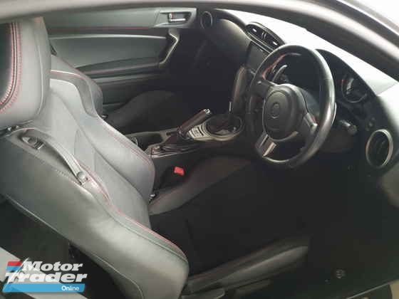 2013 TOYOTA GT86 Rear Camera Rear Spoiler Local AP Unreg (PRICE ZERO GST)