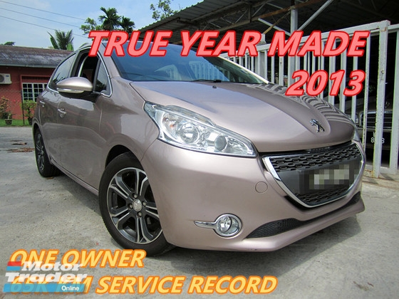 2013 PEUGEOT 208 1.6 (A) ONE OWNER , FULL SERVICE RECORD