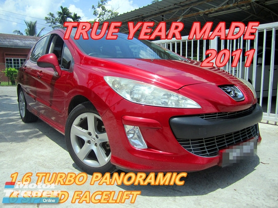 Rm 22 800 2011 Peugeot 308 1 6 Turbo A 6 Speed One