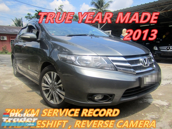 2013 HONDA CITY 1.5 E (A) NEW FACELIFT , PADDLESHIFT , REVERSE CAMERA