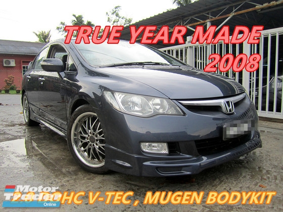 2008 HONDA CIVIC 2.0 DOHC i-VTEC (A) FULL MUGEN BODYKIT , LEATHER SEAT