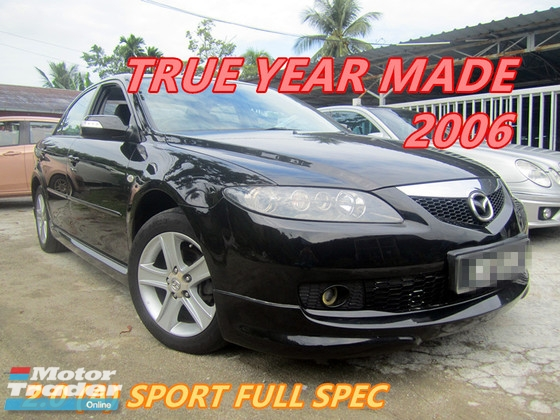 2006 MAZDA 6 2.0 SPORT (A) FULL BODYKIT , LEATHER SEAT