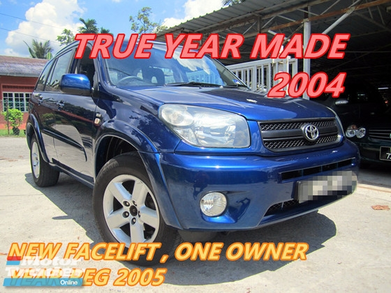 2004 TOYOTA RAV4 2.0 (A) ONE OWNER , NEW FACELIFT , WELL KEPT