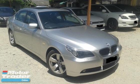 2004 BMW 5 SERIES 525I 2.5 DOUBLE VANOS (A) M54 E60