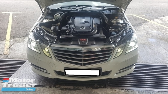 2013 MERCEDES-BENZ E-CLASS E250 CGI AVANTGARDE (7G-TRONIC) (A) REG 2013 , ONE DIRECTOR OWNER, FULL SERVICE RECORD, LOW MILEAGE DONE 74K KM, PANAROMIC ROOF, POWER BOOT, KEY LESS, PUSH START, GPS SYSTEM, 17\