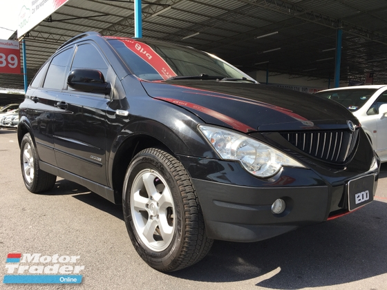 2008 SSANGYONG ACTYON EXDI 200 4WD