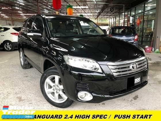 2009 TOYOTA VANGUARD 240S S PACKAGE LUXURY SUV FULL LERATHE SEAT SUNROOF MALAY OWNER WEEKEND USED ONLY