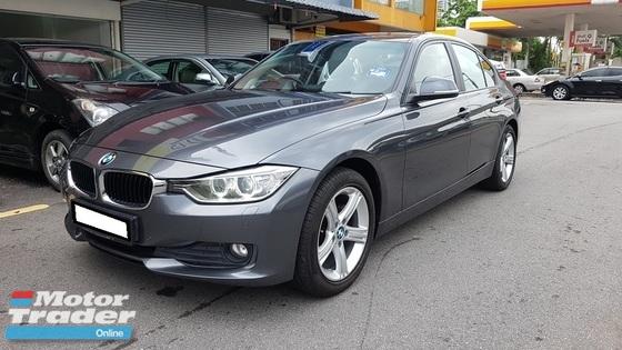 2014 BMW 3 SERIES 316I F30 1.6cc (A) REG 2014, CKD, ONE OWNER, FULL SERVICE RECORD, LOW MILEAGE DONE 63K KM, FREE 1 YEAR WARRANTY