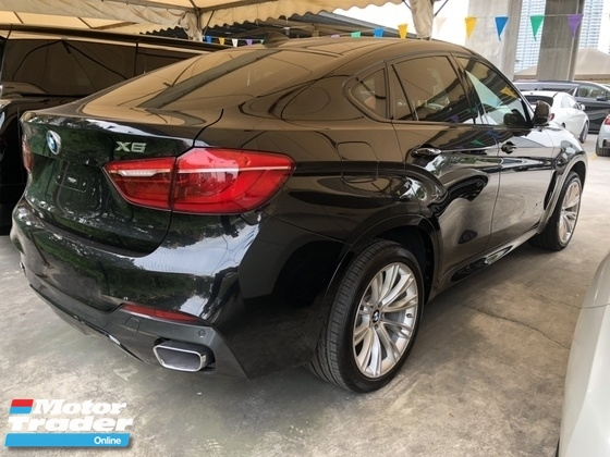 2015 BMW X6 M Sport xDrive 40d 3.0 Twin Turbocharged Pre Crash Intelligent Bi LED Memory Seat Automatic Power Boot Sun Roof Sport Plus Comfort Selection Multi Function Paddle Shift Steering Bluetooth Connectivity Unreg