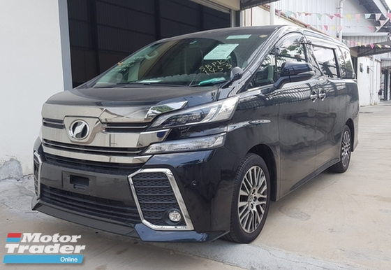 2016 TOYOTA VELLFIRE ZG EDITION PILOT SEAT CRAZY PRICE RM263K WITH SST