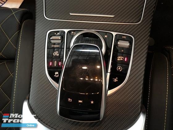 2017 MERCEDES-BENZ C63 4.0 (A) V8 BITURBO AMG EDITION 1 GT VERSION