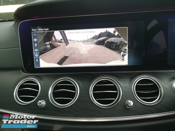 2016 MERCEDES-BENZ E-CLASS E200 AMG NEW MODEL 360CAM WIDE SCREEN UNREG