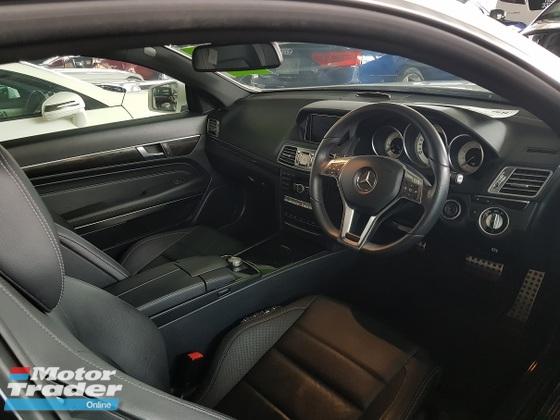 2014 MERCEDES-BENZ E-CLASS E200 AMG 2.0 Unregistered