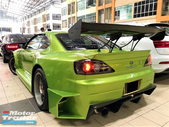 2000 NISSAN SILVIA 3.0 (A) CONVERT SUPRA ENGINE WIDE BODYKITS TIP TOP