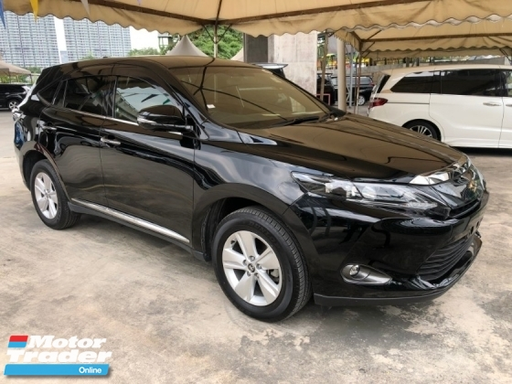2015 TOYOTA HARRIER 2.0 3ZR-FAE Valvematic 7-SCVT 4 Surround Camera Automatic Power Boot Auto Power Seat Intelligent Bi LED Smart Entry Push Start Button Multi Function Steering 9 Air Bag Unreg