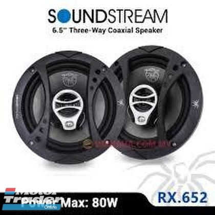 SoundStream RX.652 6.5 3Way Coaxial Speakers 80W (40W RMS) In car entertainment & Car navigation system > Audio