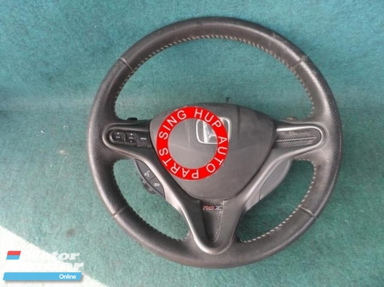 Honda stream steering wheel wair bag set Half-cut