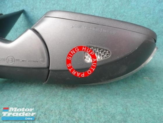 Volkswagen passat side mirror 1pcs Half-cut