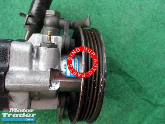 Kia spectra power steering pump Half-cut