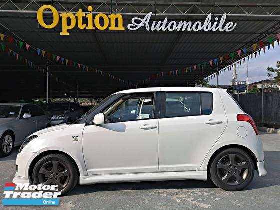 2008 SUZUKI SWIFT 1.5 Premium Spec (Auto) Crystal White NEW PAINT OTR PRICE