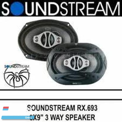 SoundStream RX.693 6x9 4Way Coaxial Speakers 100W (50W RMS) In car entertainment & Car navigation system > Audio