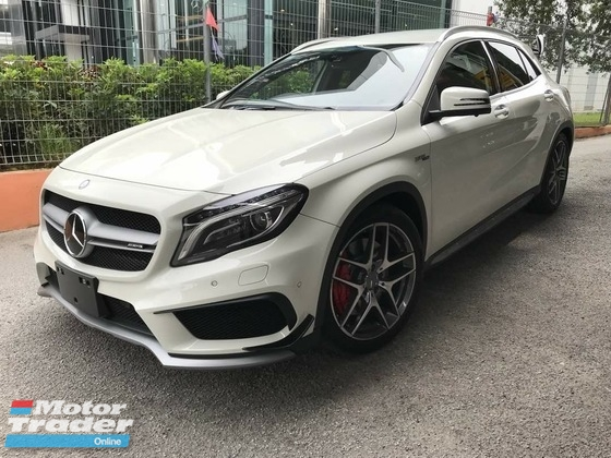 2015 MERCEDES-BENZ GLA 45 unreg GLA45 SUV sport car