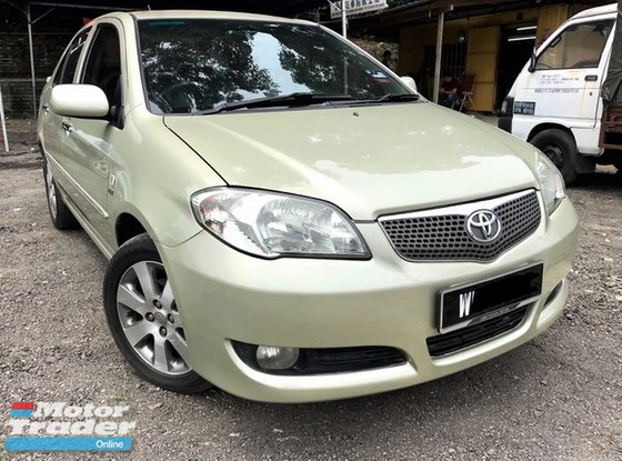 2005 TOYOTA VIOS 1.5G (AT) 1 OWNER EASY HI-LON WELCOME 2 C