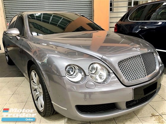 2006 BENTLEY CONTINENTAL 6.0 (A) W12 FLYING SPUR LUXURY VERSION GOOD CONDITION
