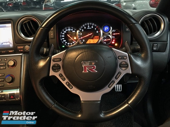 2008 NISSAN GT-R 3.8 (A) V6 TWINTURBO BLACK EDITION GOOD CONDITION