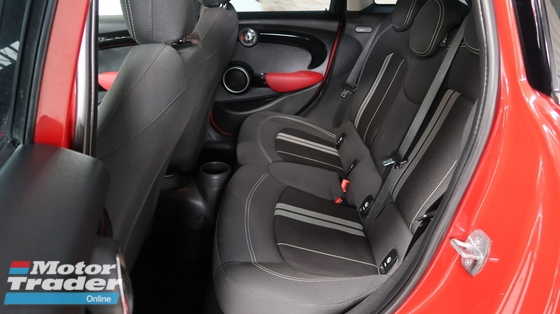 2015 MINI 5 DOOR COOPER S 2.0 4 DOORS JCW R.CAMERA PADDLE SHIFT