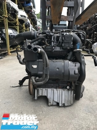 VOLKSWAGEN MK6 Golf CAV ENGINE HALFCUT HALF CUT NEW USED RECOND AUTO CAR SPARE PART MALAYSIA