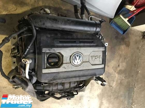 VOLKSWAGEN GOLF MK6 GTI ENGINE HALFCUT HALF CUT NEW USED RECOND AUTO CAR SPARE PART MALAYSIA