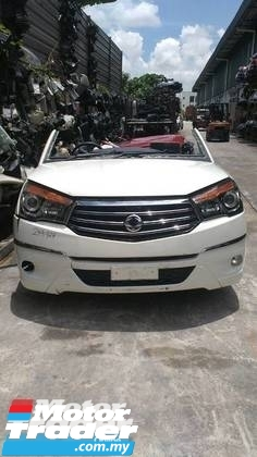 SsangYong Stavic HALFCUT  NEW USED RECOND CAR PARTS SPARE PARTS AUTO PART HALF CUT HALFCUT GEARBOX TRANSMISSION MALAYSIA Enjin servis kereta potong separuh murah SSANGYONG Malaysia