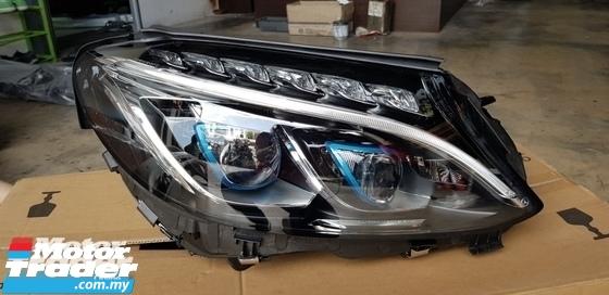 MERCEDES BENZ W205 HEAD LAMP Half-cut