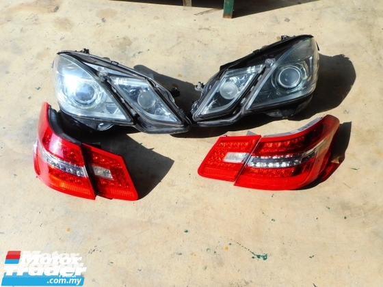 MERCEDES BENZ W212 head Lamp   Tail Lamp