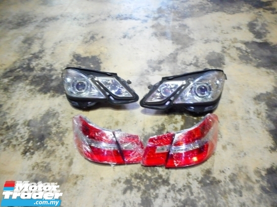 MERCEDES BENZ W212 E CLASS Head Lamp   Tail Lamp  Boot Lid NEW USED RECOND AUTO CAR PART MALAYSIA