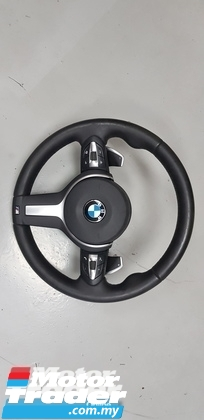 BMW F34 STEERING WHEEL  NEW USED RECOND CAR PARTS SPARE PARTS AUTO PART HALF CUT HALFCUT GEARBOX TRANSMISSION MALAYSIA Enjin servis kereta potong separuh murah BMW Malaysia