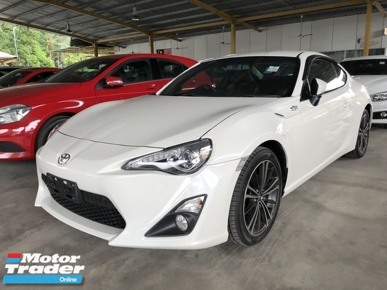 2015 TOYOTA 86 Unreg Toyota GT86 2.0 (A) Boxter Engine Paddle Shift 6Speed Sport Car