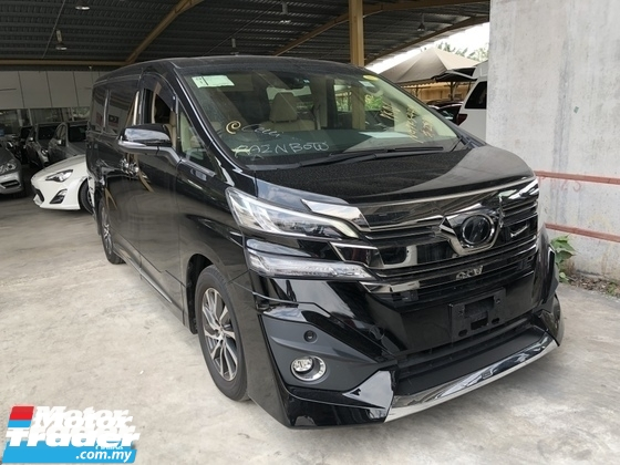 2016 TOYOTA VELLFIRE Unreg Toyota Vellfire 3.5 VL 7seats 360view Sunroof Home Theater JBL Sound PowerBoot