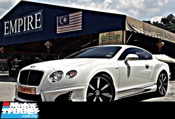2016 BENTLEY CONTINENTAL GT MULLINER 4.0 ( A ) V8S TWIN TURBO NEW FACELIFT !! 2 DOOR COUPE WALD BISON BODYKIT !! SPORT LIMITED EDITION !! PREMIUM HIGH SPECS COMES WITH POWER BOOT & ETC !! ( BXX 55 ) 1 VVIP OWNER !!