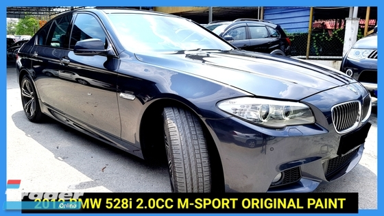 2012 BMW 5 SERIES 528I M-SPORTS LOW MILEAGE TRUE YEAR MAKE
