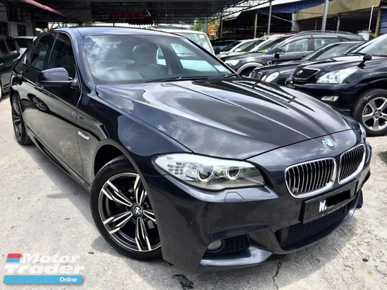 2012 BMW 5 SERIES 528I F10 2.0 (A) M-SPORT VERSION 1 OWNER FULL SVC RECORD BY AUTO BAVARIA